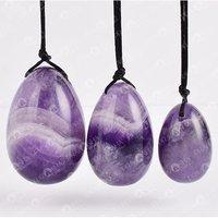 Prayosha Crystals Amethyst Egg