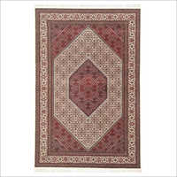 Cream Colour Mix Irani Bidjar Carpet