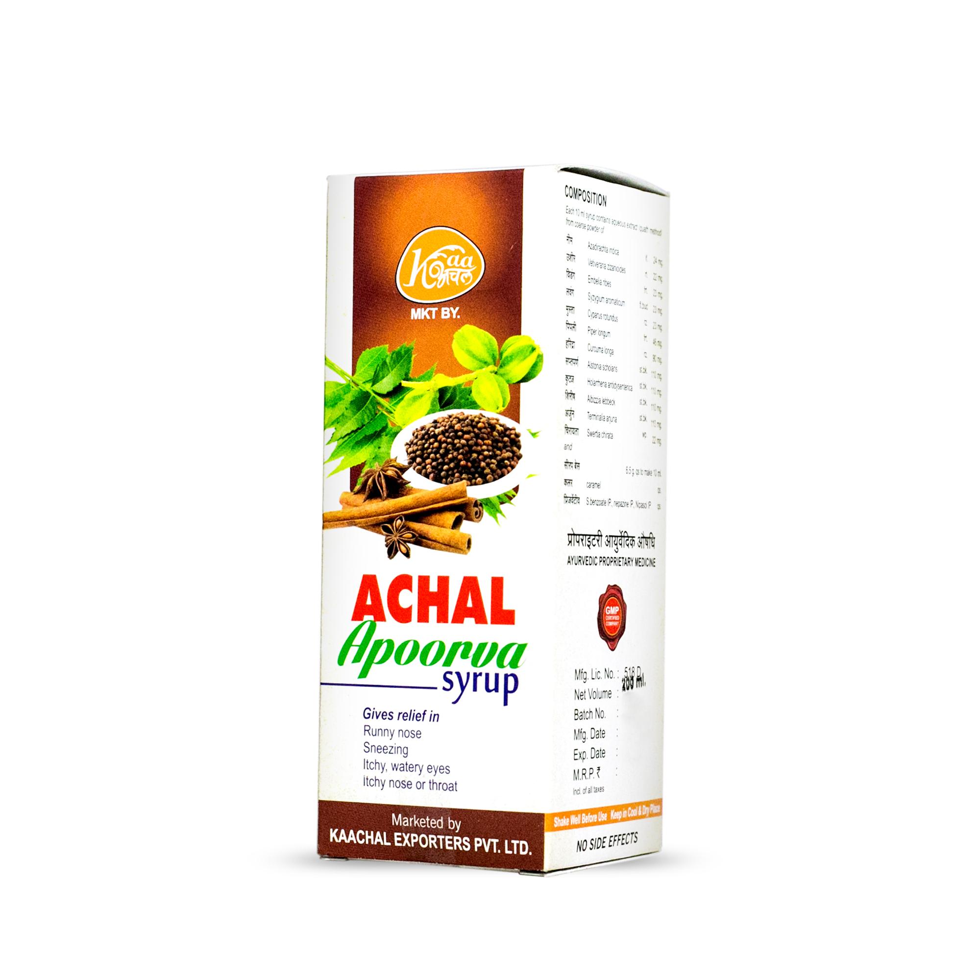 Achal Apoorva Syrup