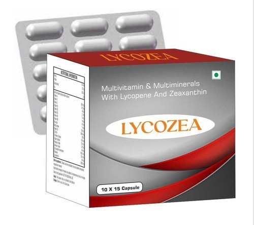 Multivitamin & Multimineral with Lycopene, Lutein and Zeaxanthin  Capsules