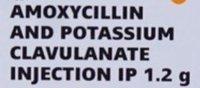 Amoxicillin potassium clavulanate