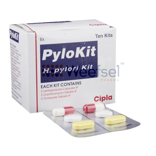 H Pylori Kit of Esomeprazole, Clarithromycin and Tinidazole