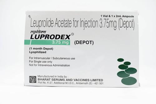 LUPRODEX 3.75MG