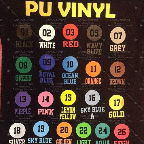 Heat Transfer Vinyl Logo Sticker