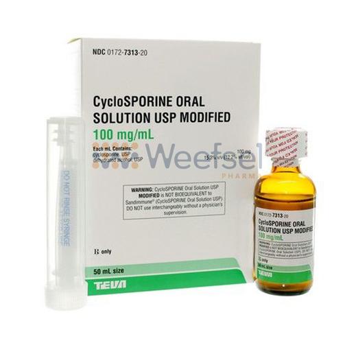 Cyclosporine Suspension