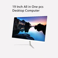 19 inch all in one desktop computer intel celeron J4125 ddr4 ssd storage barebone system