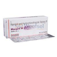 Ramipril and Hydrochlorothiazide Tablets