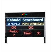 Cricket Score Board display