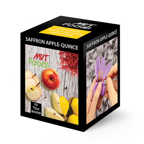 Saffron Apple-Quince Infusion