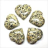 Prayosha Crystals  Dalmatian Heart