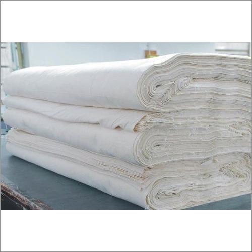 Plain White Bleached Fabric