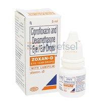 Ciprofloxacin and Dexamethasone Eye/Ear Drops