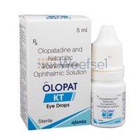 Olopatadine and Ketorolac Eye Drops