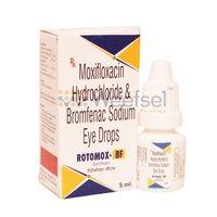 Moxifloxacin and Bromfenac Eye Drops