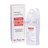 Paracetamol (Acetaminophen) Infusion