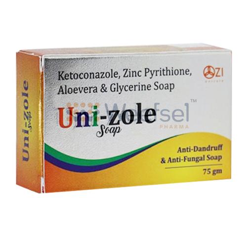Ketoconazole, Zinc Pyrithione, Glycerine and Aloe Vera Soap