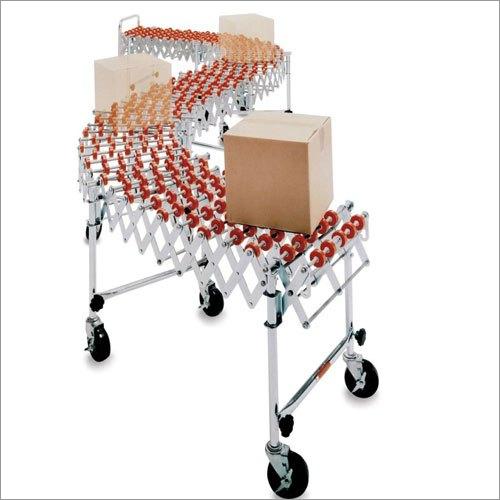 Motorized Flexible Roller Conveyor