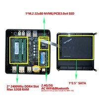 MINI PC R7 2700 Radeon Vega 10