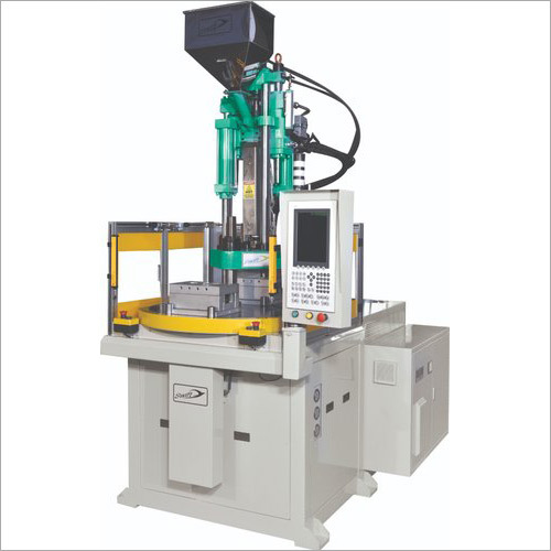 Vertical Rotary Type Plastic Injection Moulding Machine
