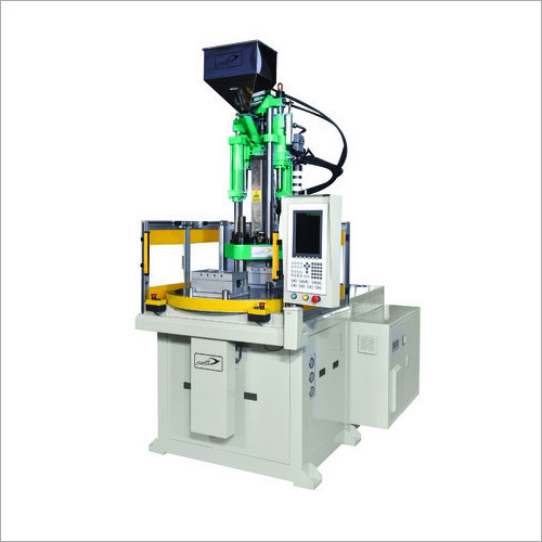 Two Station Rotary Plastic Injection Molding Machine