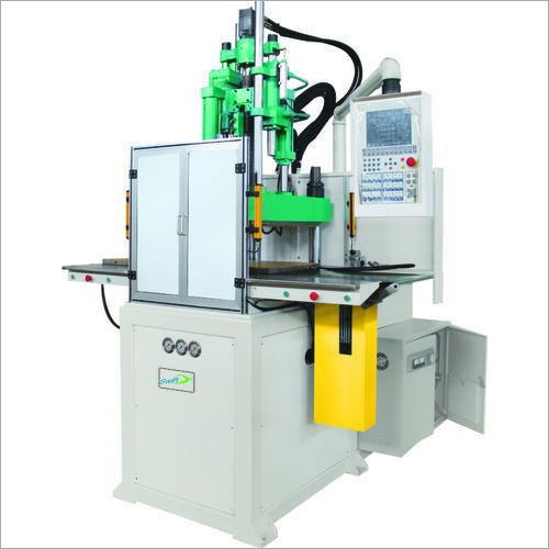 Two Station Vertical Plastic Injection Moulding Machine
