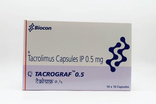 TACROGRAF 0.5 MG