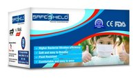 SAFESHIELD 3 Ply Disposable Kids Face Mask BFE 99%