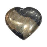 Prayosha Crystals Pyrite Heart