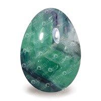 Prayosha Crystals Green Fluorite Egg
