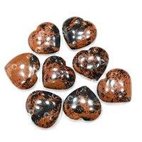 Prayosha Crystals  Mahogany Obsidian Heart