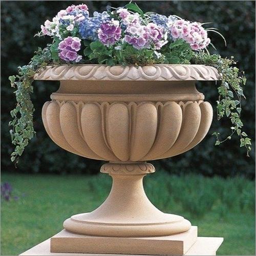 Designer Marble Flower Pot