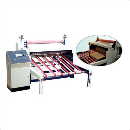 Corrugated Paper Roll to Sheet Cutting Machine