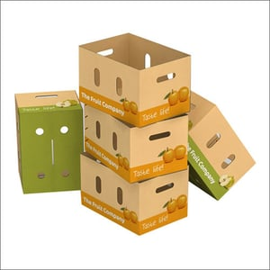 Fruits And Vegetable Corrugated Boxes
