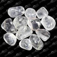 Prayosha Crystals Clear Quartz Tumble