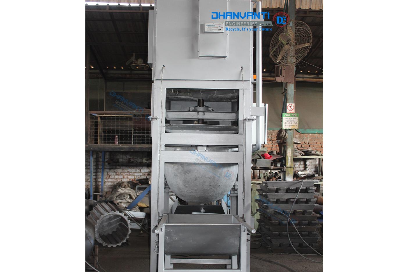 Aluminium Hot Dross Separator Machine