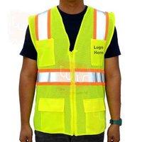 INDUSTRIAL SAFETY PROTECTION VEST REFLECTIVE JACKE
