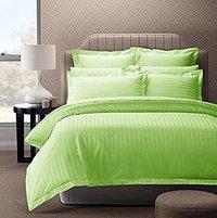 Divine Overseas Satin Stripes Cotton Bedsheet