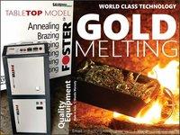 Gold Melting Furnace Induction Based 1 kg