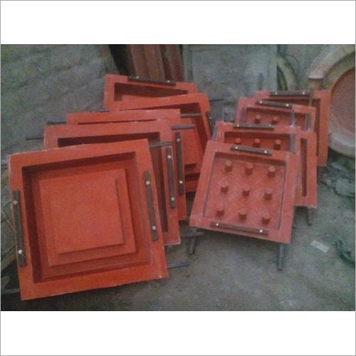 Square Steel Fiber Reinforced Concrete FRP Manhole Cover Mold (frame + chakkar plate