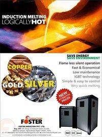 Silver Melting Furnace Induction Based
