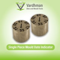 Single Piece mould date indicator