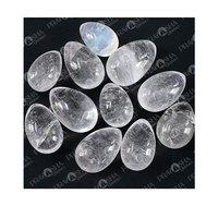 Prayosha Crystals Clear Quartz Egg