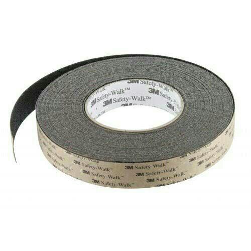 3M Anti Slip - Anti Skid Tape (Black) - 1 inch