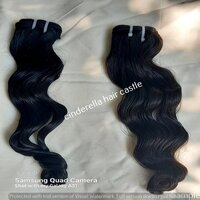 CHEAPEST PRICE BULK HAIR VIRGIN UNPROCESSED CUTICLE ALIGNED INDIAN TEMPLE HUMAN HAIR BUNDLES VENDOR FROM INDIA