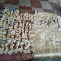 VIRGIN CUTICLE ALIGNED HAIR / 613 BULK BLONDE HAIR BUNDLES
