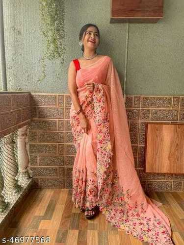 EMBROIDERY WORK SAREE COLLECTION