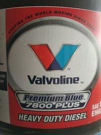 Valvoline Premium Blue Plus 7800