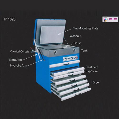 Non Woven - Woven Fabric Printing Plate Making Machine