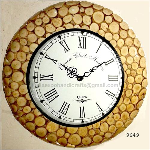 9649 Antique wall Clock