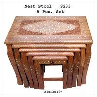 5 Pcs Set Nest Stool
